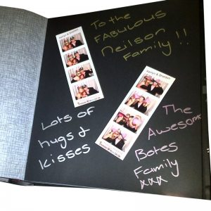 Photo Booth Album Guest Book Photoboothsa
