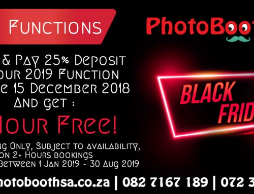 Black Friday 2018 Photo Booth Rental